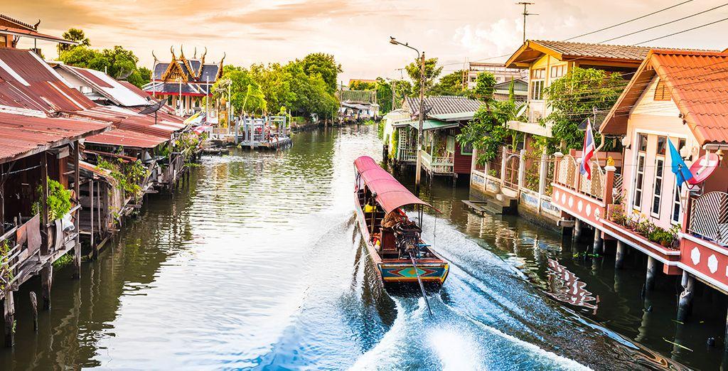Séjour Thailande en demi pension à Khao Lak : vente flash avec le spécialiste des ventes privées Voyage privé