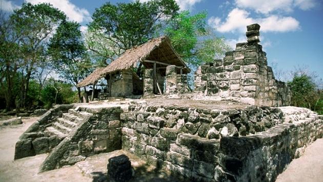 Exploration des ruines Maya lors de votre croisière pas cher all inclusive avec vol inclus au départ de paris .