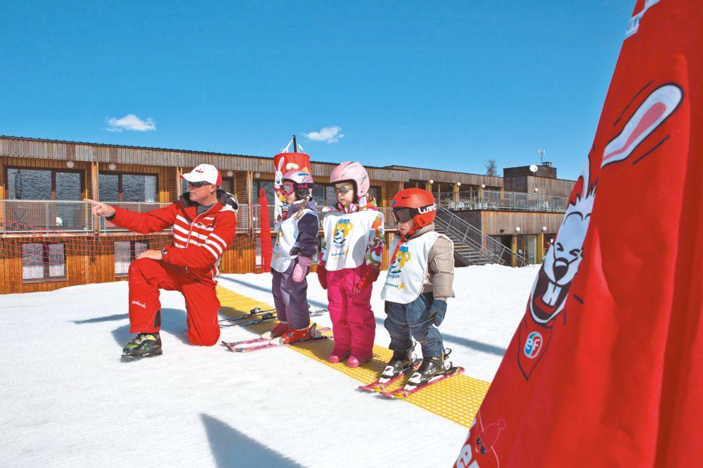 Cap Vacances à La Plagne dans une station de sports d'hiver au coeur de la vallée de la Tarentaise, sur communes d'Aime-la-Plagne .