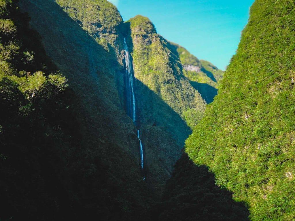 Cascade Blanche Salazie : lieu de découverte et de randonnée à la Réunion .