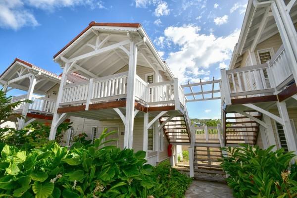 Hotel Bambou au Trois île en Martinique