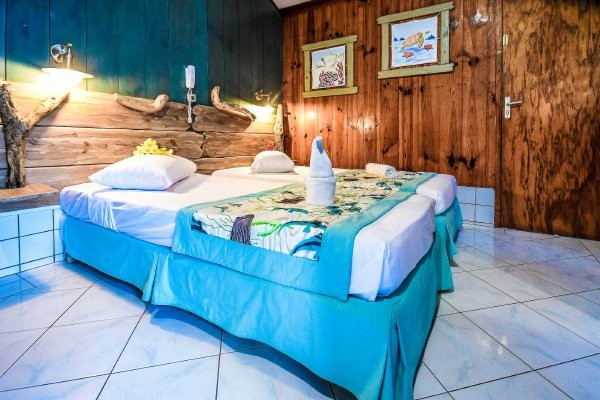 Hotel Bambou : location de bungalows aux Troi ilets