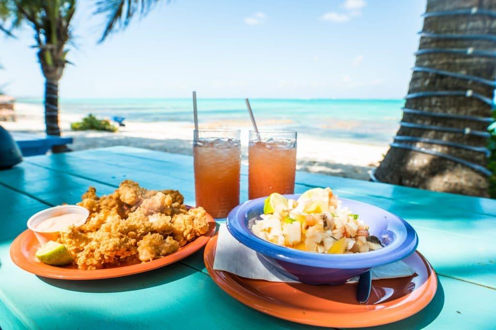 la gastronomie et les nourritures des îles caimans à découvrir et déguster