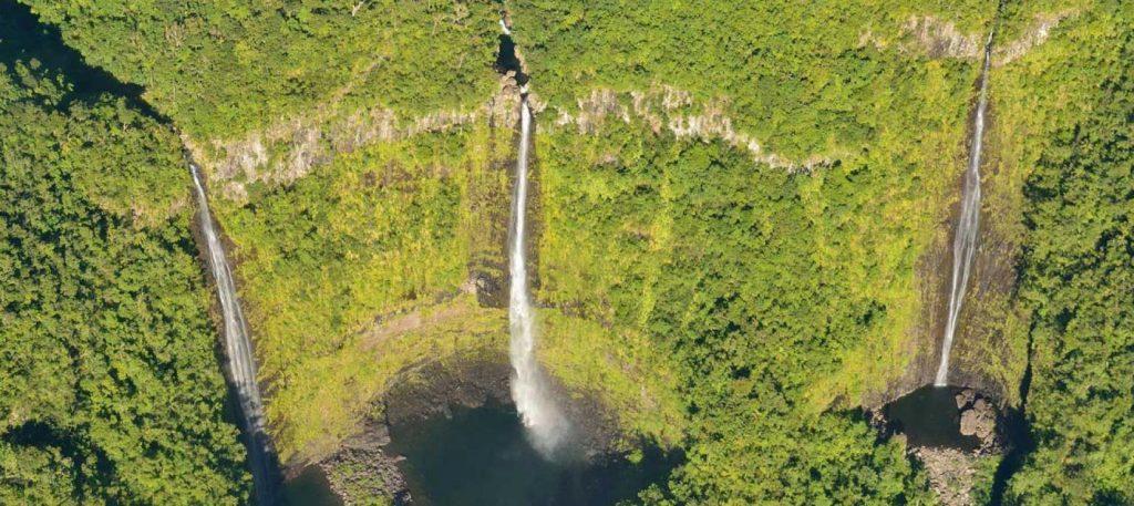 3 Cascades au canyon à la Réunion : lieu touristique à découvrir pendant la meilleure période pour aller à la réunion .