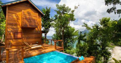 Secret Bay : location vacances insolite à la Dominique aux Caraibes