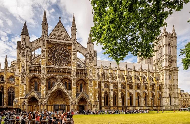 Abbaye de Westminster, entrée de la grande cathédrale
