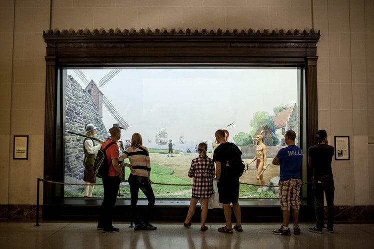 Activité touristique à faire à New York : visiter  l' Américan Museum of Naturel History