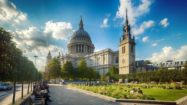 Cathédrale de Saint Paul à Londres