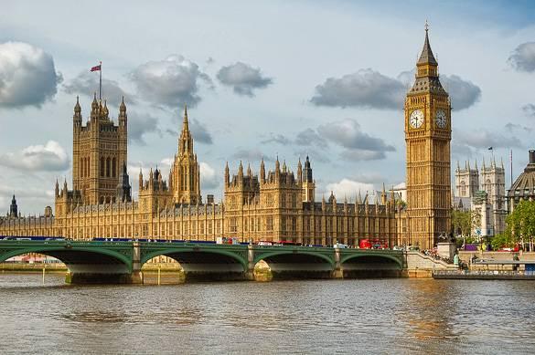 Palais de Westminster : chambre du parlement