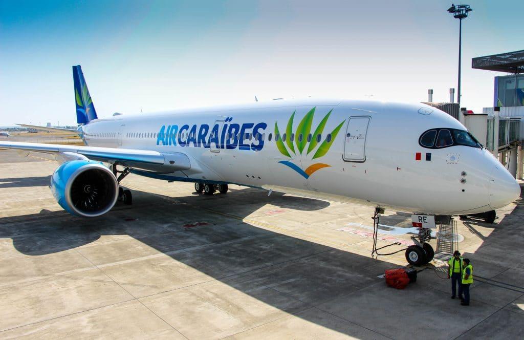 avion Air Caraibes pour des voyages aux Antilles et Guyane pas chers