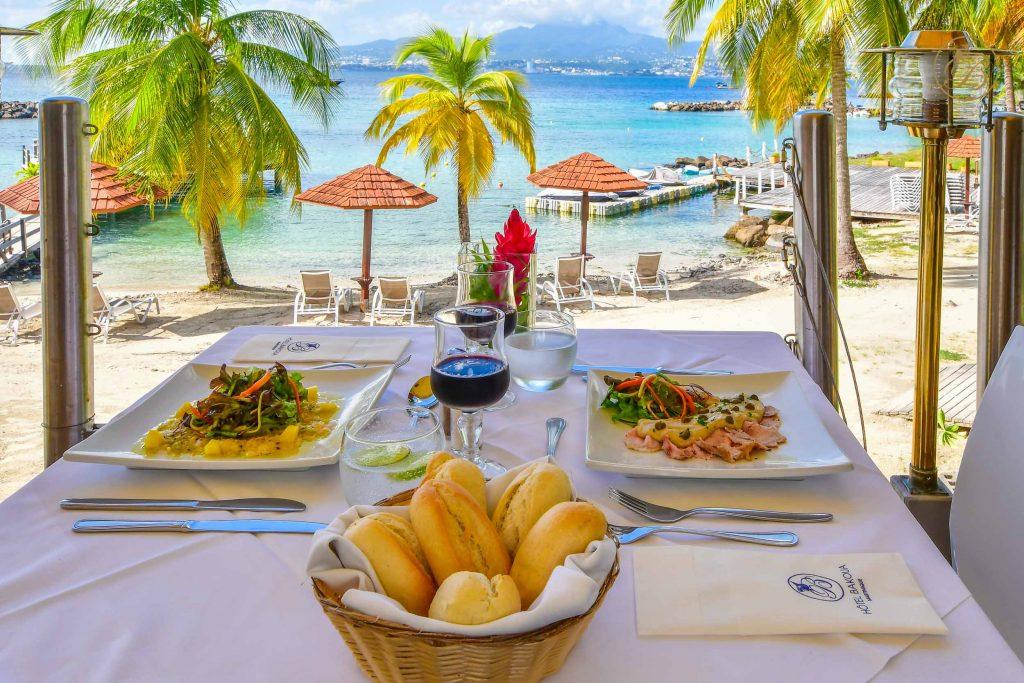Hôtel Bakoua, Martinique au Trois îlets