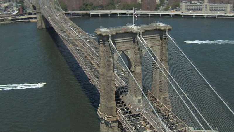 Se promener sur le pont de Brooklyn Bridge : activité à faire à New York