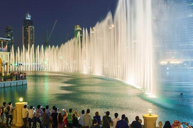 Fontaine de Dubai : ce qu'il faut visiter gratuitement