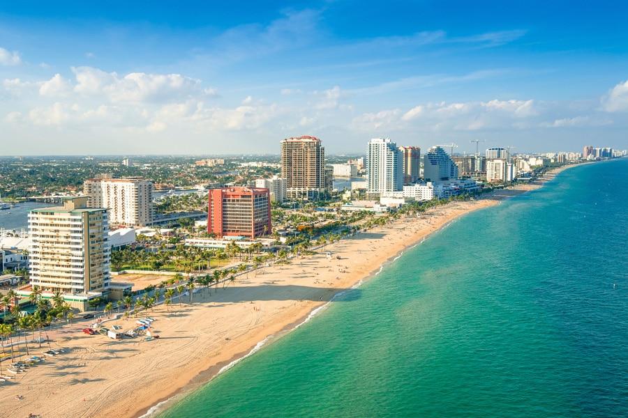 Fort Lauderdale belle plage de Floride