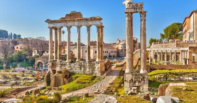 Vestige du forum Romain : excursion à faire