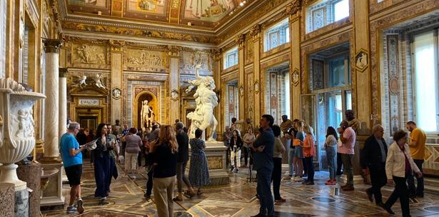 Galerie Borghese : lieu d'exposition d'oeuvre d'art