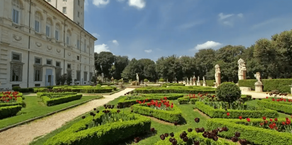 Villa du Jardin Borghese à visiter à Rome