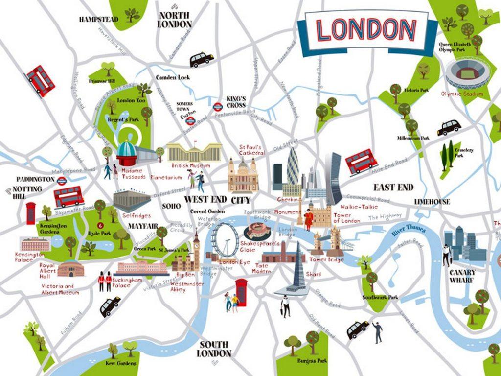 Londres les lieux touristiques à visiter et ce qu'il faut faire pendant son séjour