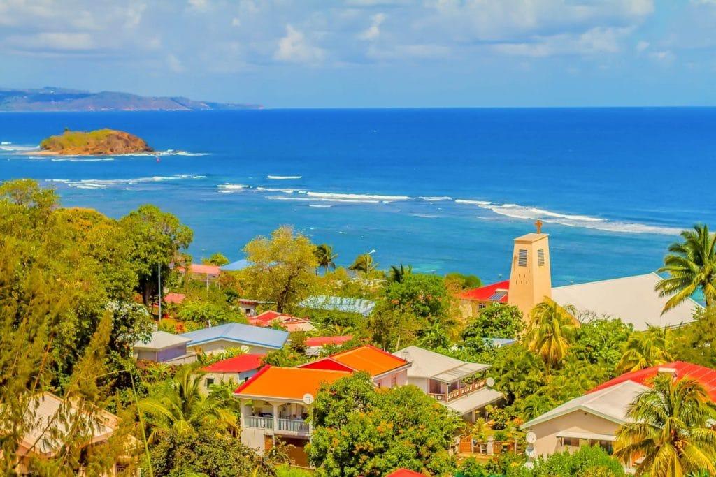 Tartane : lieu à visiter en Martinique