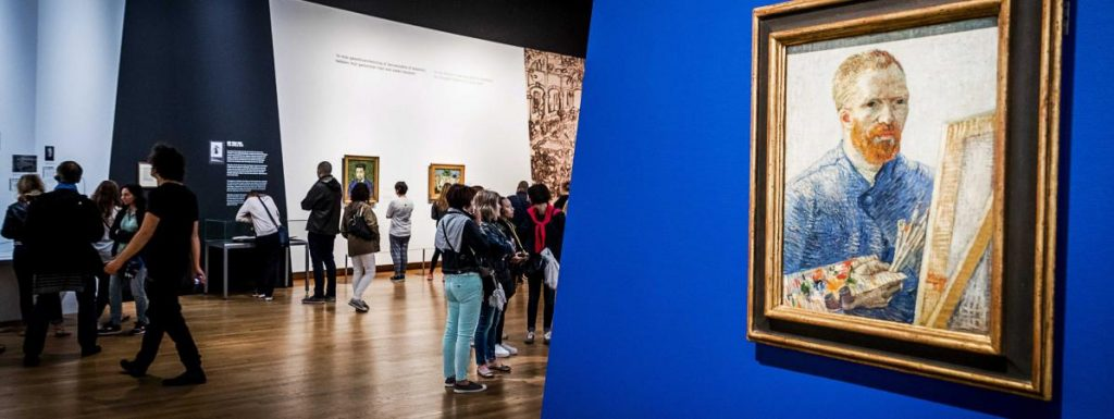 Exposition des tableaux au Muséum Vangogh : lieu à visiter à Amsterdam