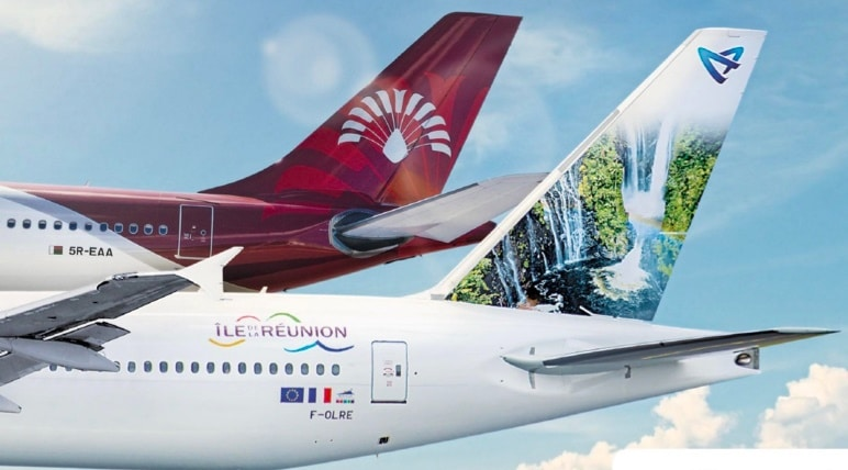 MyCapricorne : programme de fidélité Air Austral et Air Madagascar pour des avantages surclassement , bagage supplémentaire, réduction des prix des billets d'avion