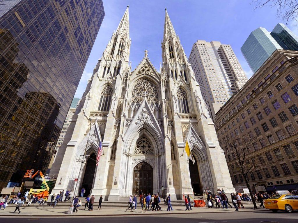 Que faire à New York : aller à la Cathédrale Saint Patrick