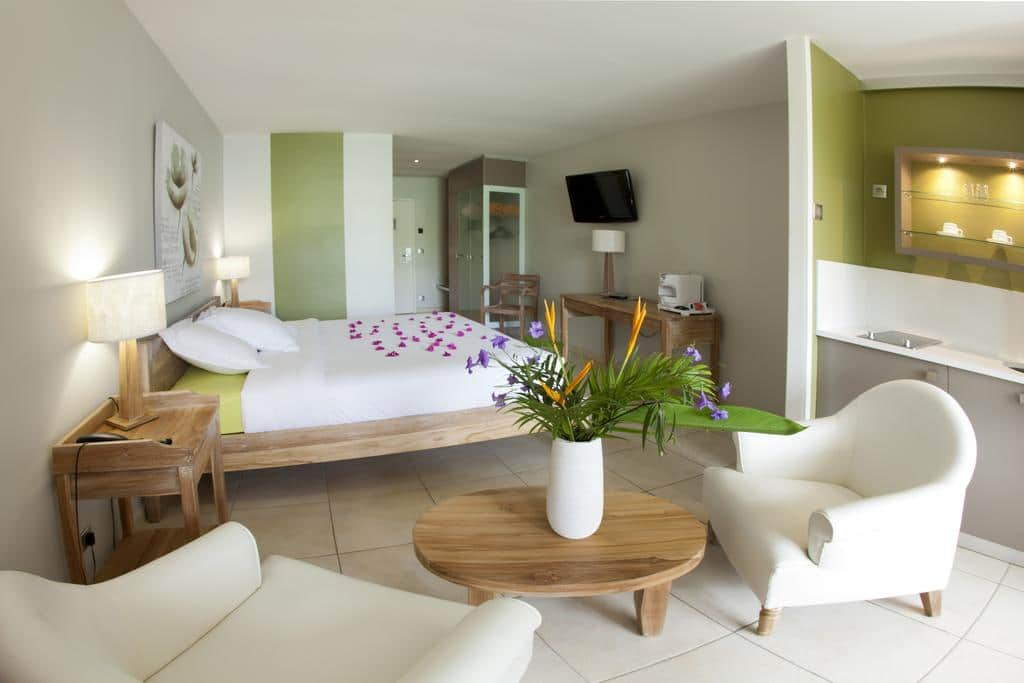 chambre hôtel la Pagerie Martinique