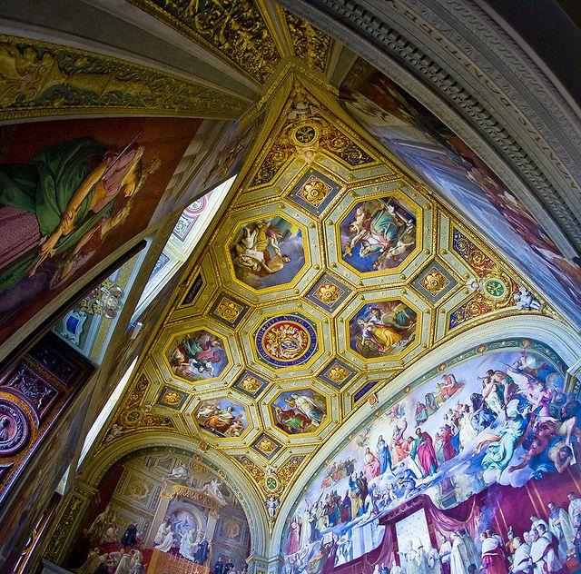 Décoration Chapelle Sixtine : chose à voir au Vatican