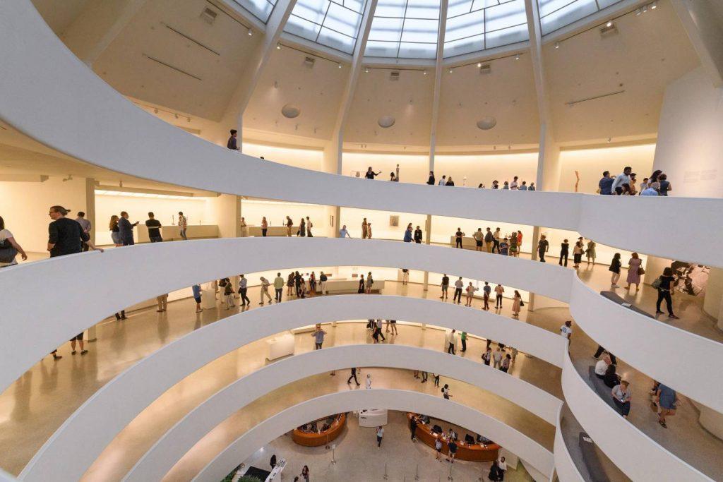 Musée Guggenheim : un des plus grands musée des arts et œuvres contemporaines new yorkais.