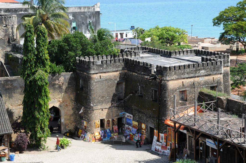 Old Fort : grand monument à visiter à Zanzibar