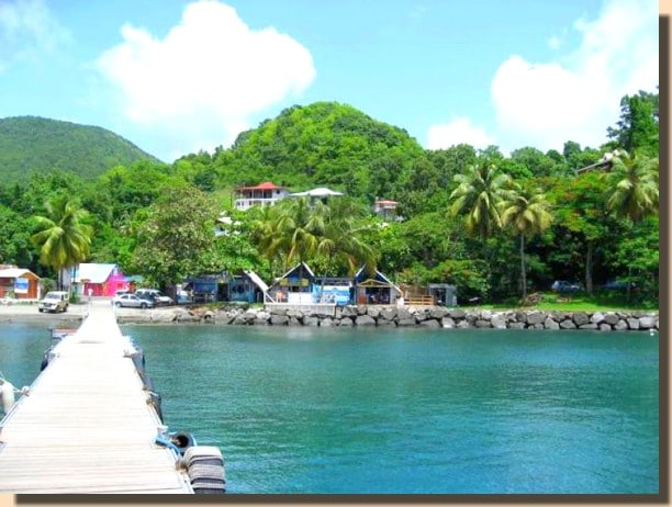 Visite de la Guadeloupe : plage de Malendure en Guadeloupe