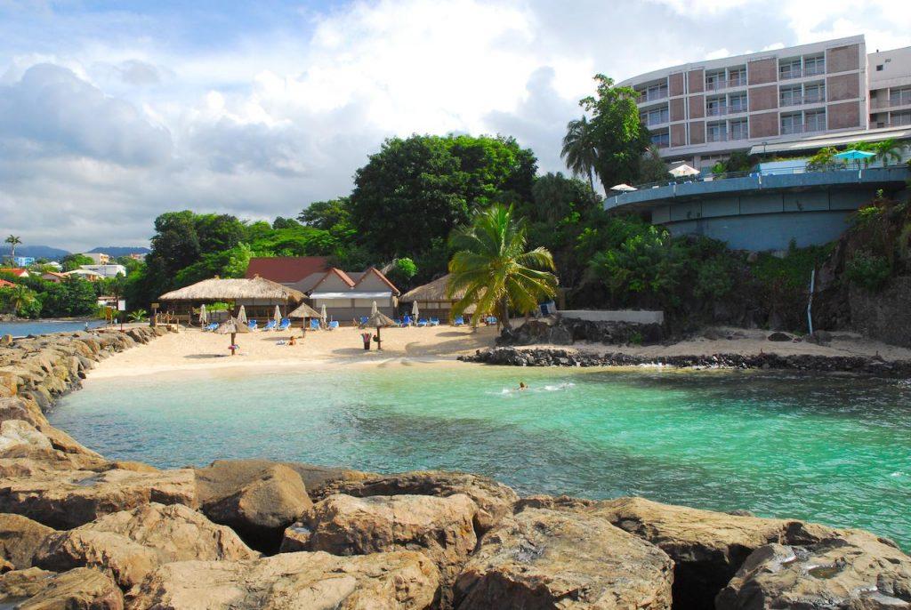 Hotel Bateliere en Martinique