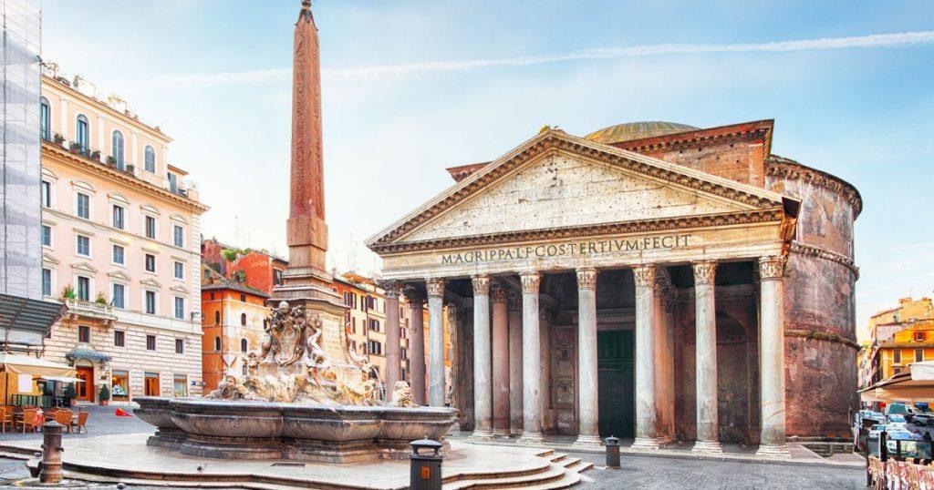 Quartier du Panthéon de Rome à visiter