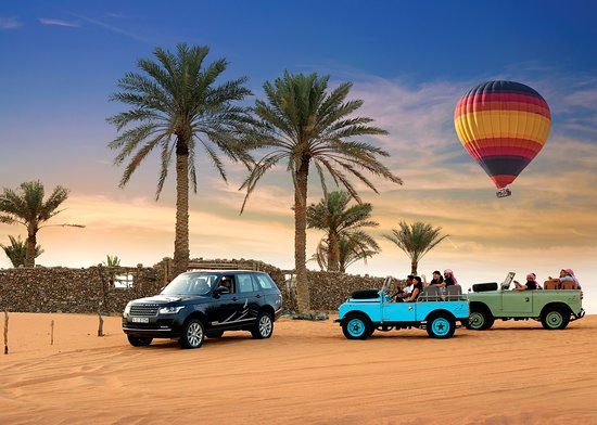 Safari dans le désert de Dubai : excursion 4X4 et montgolfiere