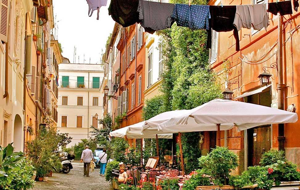 Quartier de Trastevere à Rome : lieu à voir et visiter