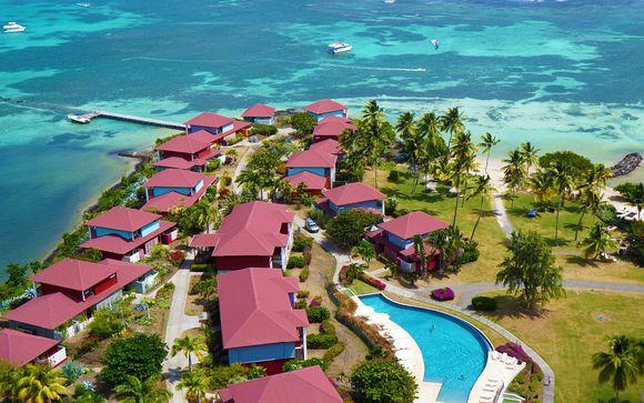 Cap est lagoon resort : hotel de luxe en Martinique de 4 étoiles