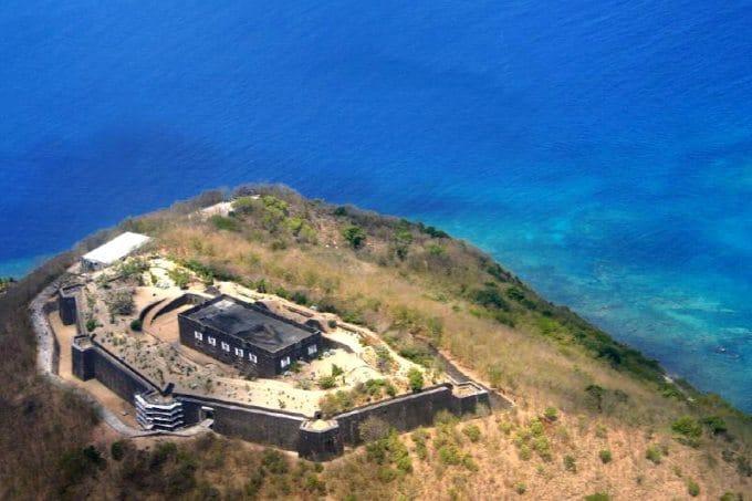 Excursion aux îles des Saintes en bateaux : archiepl de Guadeloupe