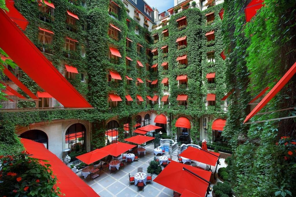 Hotel Plazza Athenée de luxe