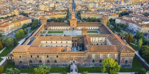 visiter le Chateau des Sforza à Milan