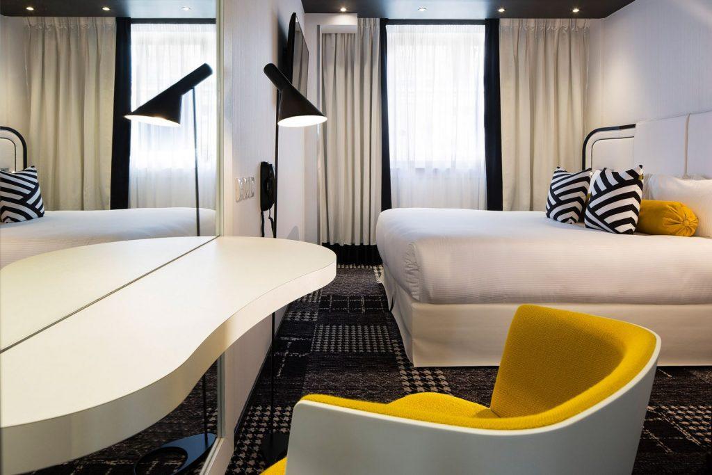 Chambre Ekta Hotel de luxe à Paris