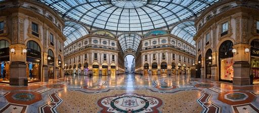 ce qu'il faut faire à Milan : aller à la Galerie vittorio emmanuele ii