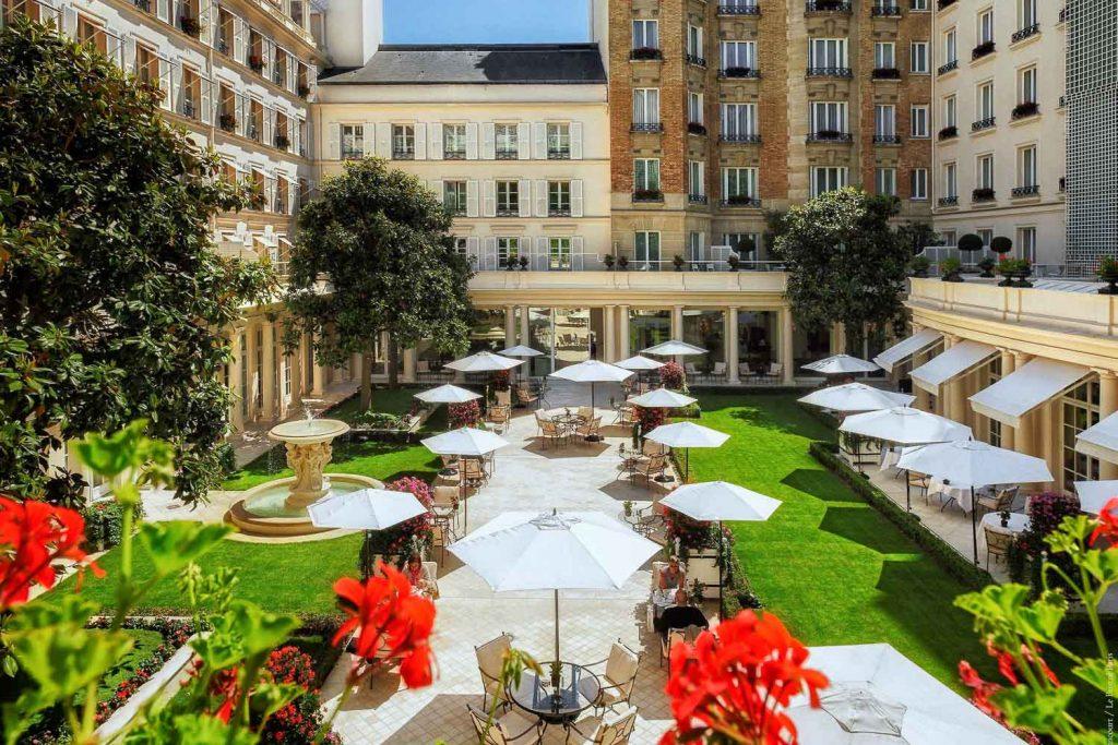 Bristol : hôtels de Luxe 5 étoiles avec spa à Paris