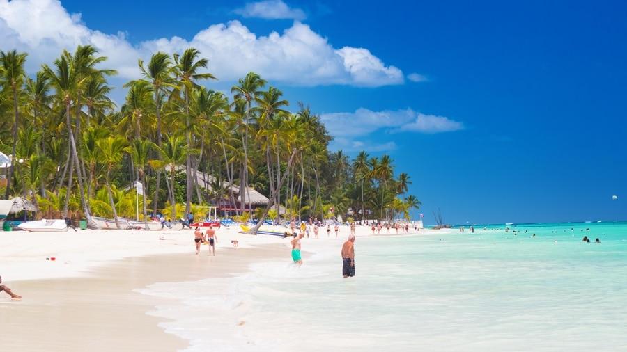 Macao Beach : plage pour faire du surf à Punta Cana