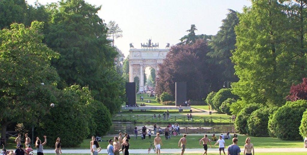 Aller au plis grand parc de Milan : Parc Sempione