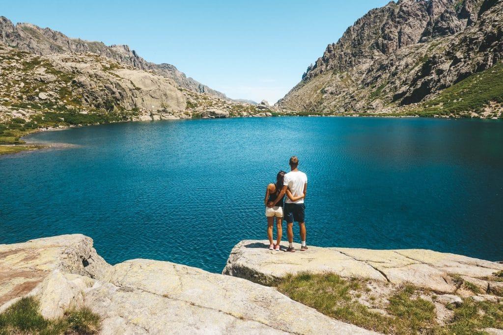 Lac de Melo en Corse du Nord