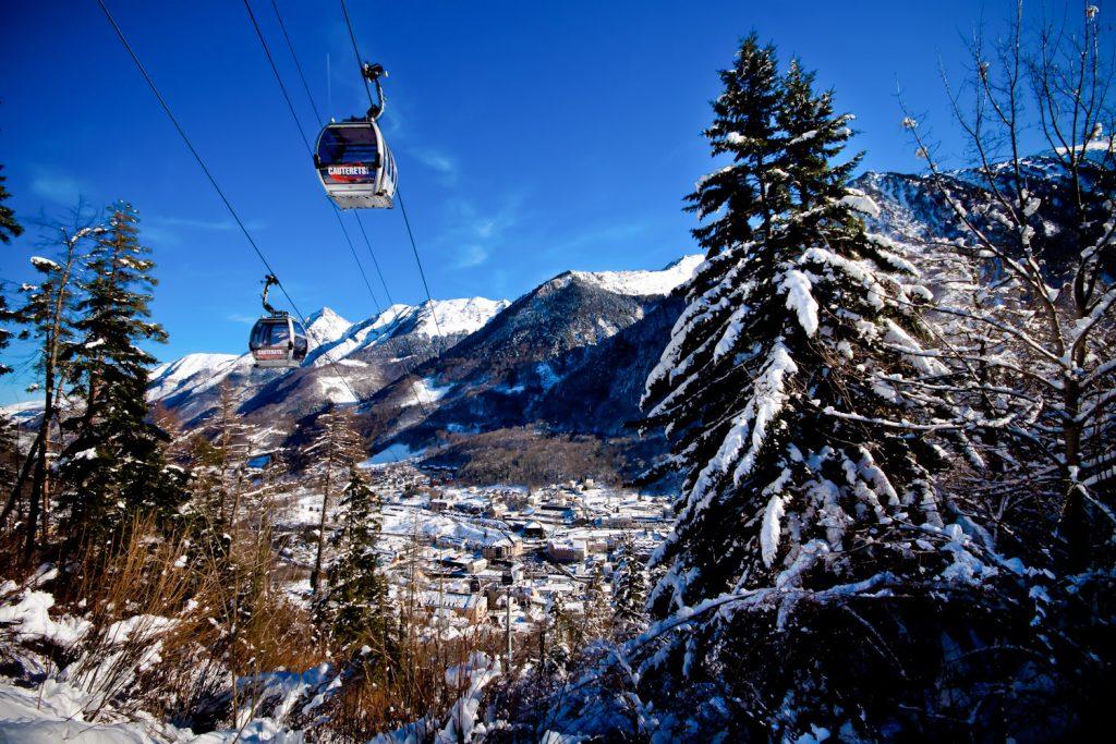 Télécabine  : Station de ski Cauteret aux Pyrénées
