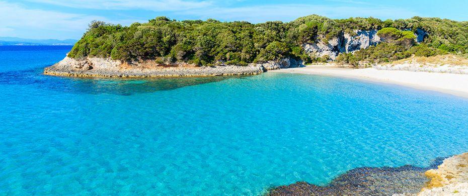Plage d'Ajaccio en Corse