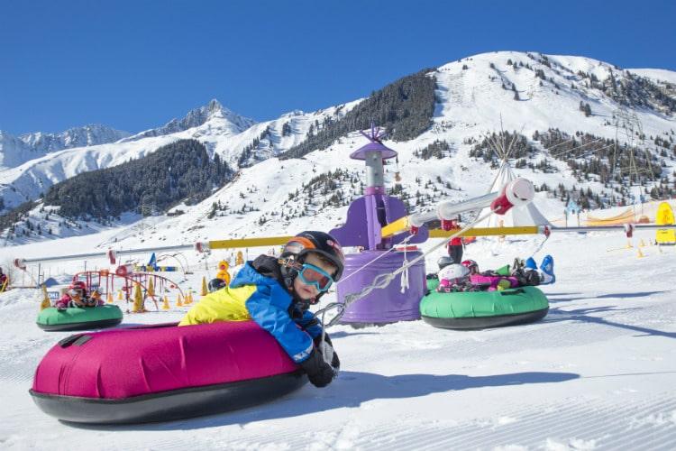 Andermatt sation de ski suisse pour famille