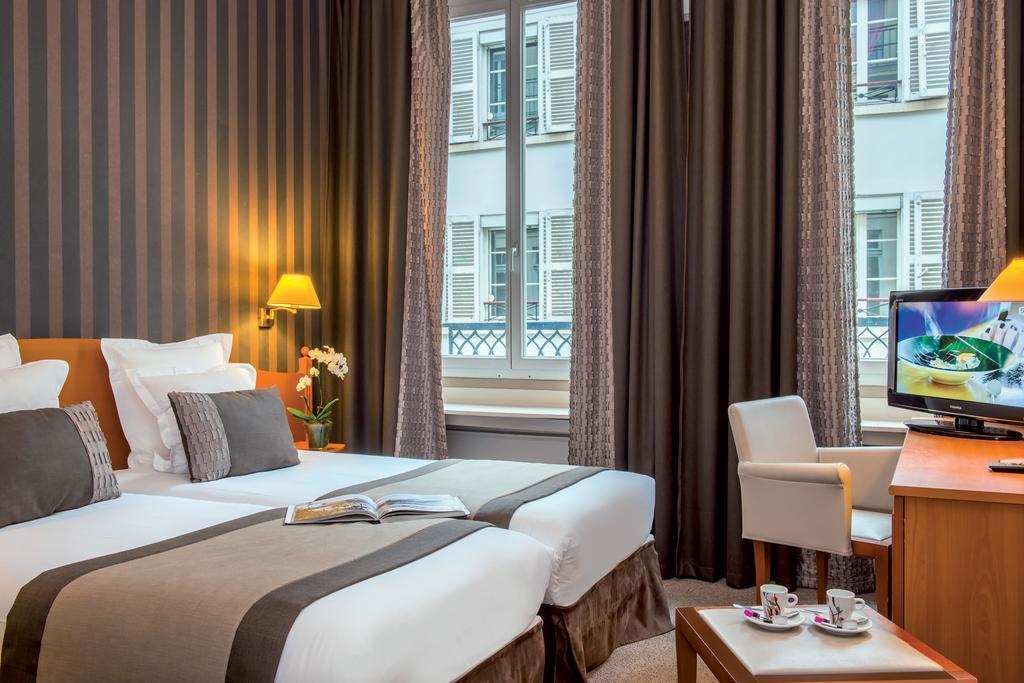 Hotel Provinces Opéra Paris de luxe pas cher