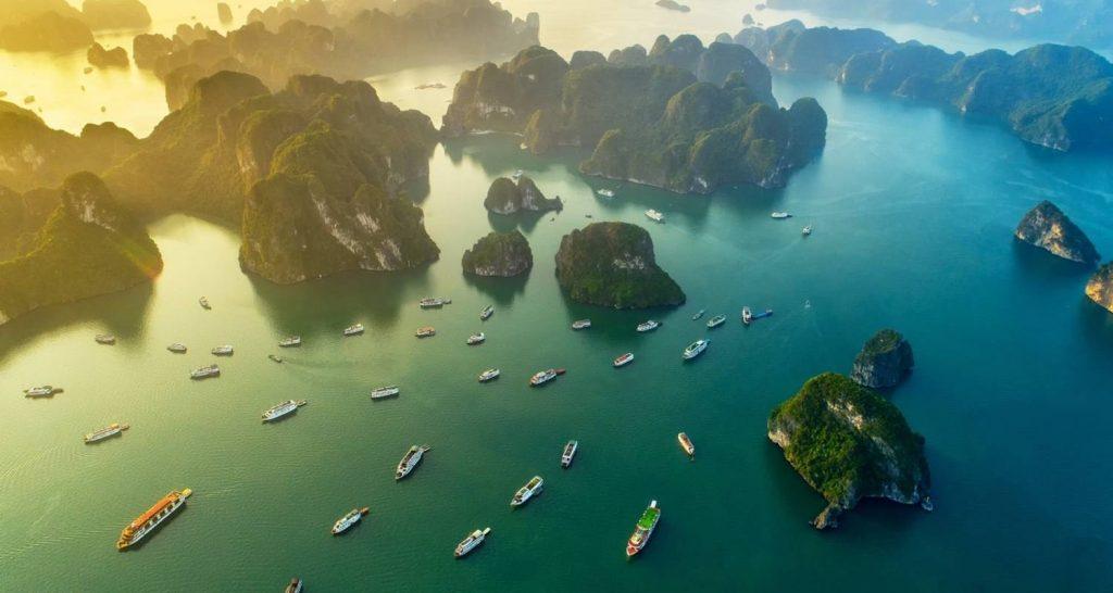 Bai D'Halong au Vietnam : quand partir pour visiter